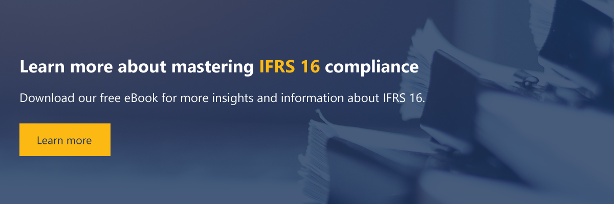 Learn more about IFRS 16 compliance
